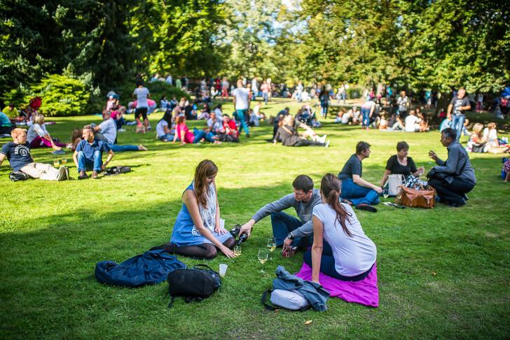 Фестиваль бурчака в Королевских садах