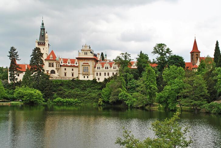Замок Пругонице