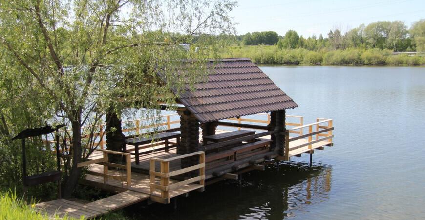 Озеро «Спартак» в Новосибирске