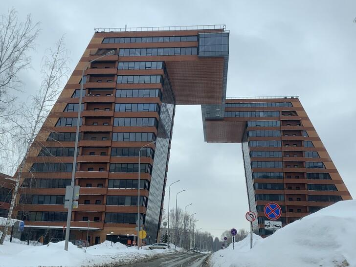 Здание технопарка в Академгородке