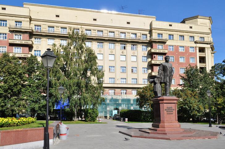 Сквер архитектора Крячкова