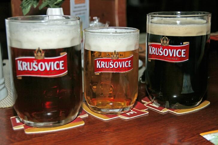 Пиво «Крушовице»