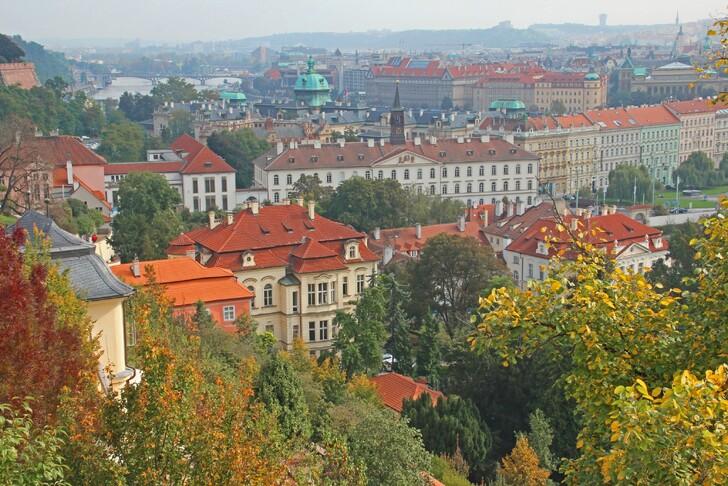 Осенняя Прага