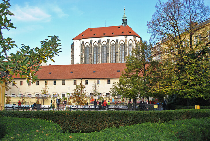 Францисканский сад в октябре