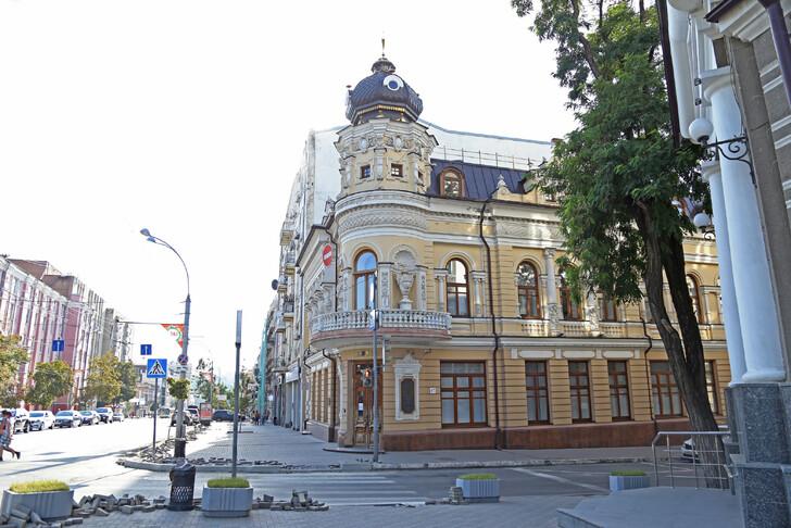 Дом Маргариты Черновой
