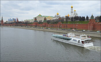 Возобновилась навигация по Москве-реке