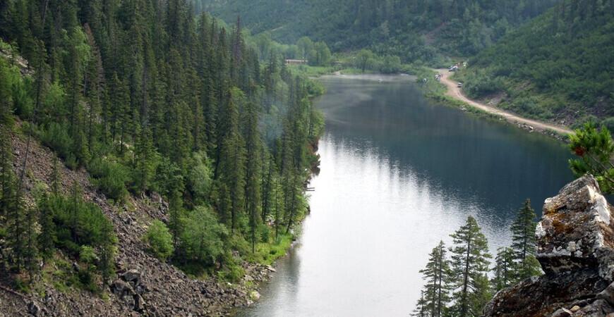 Озеро Амут <br/> в Хабаровском крае