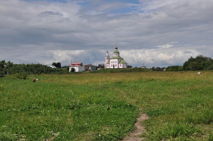 Ильинский луг и церковь Ильи Пророка
