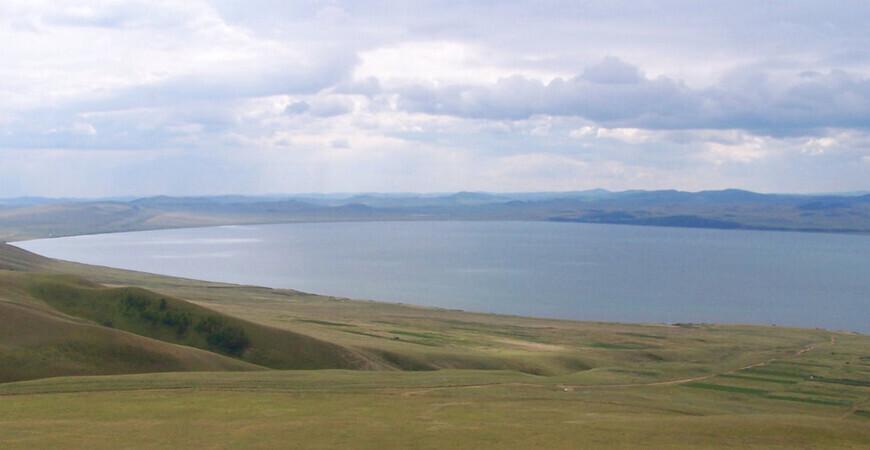 Озеро Иткуль в Хакасии