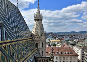 Вена. Панорамы от Орлиной башни
