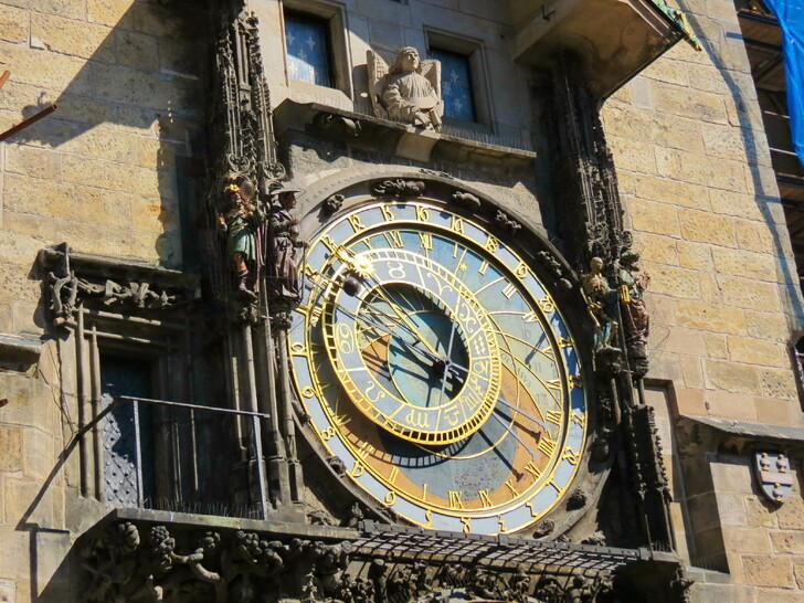 Астрономические часы на Староместской ратуше