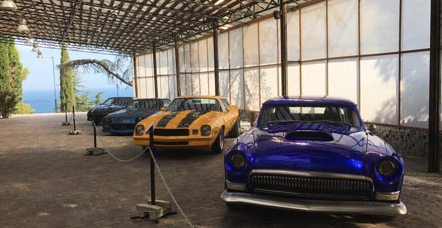 Музей автомобильного искусства вЯлте