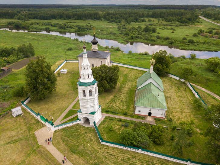 Борисоглебская церковь в селе Кидекша