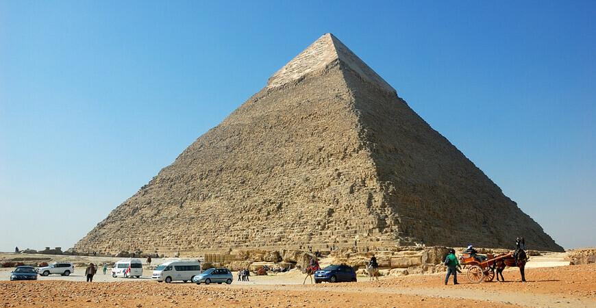 Пирамида Хефрена (Хафры)