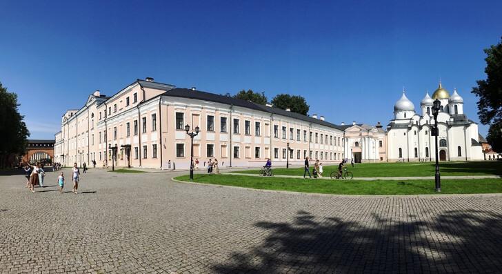 Музейное здание на территории кремля