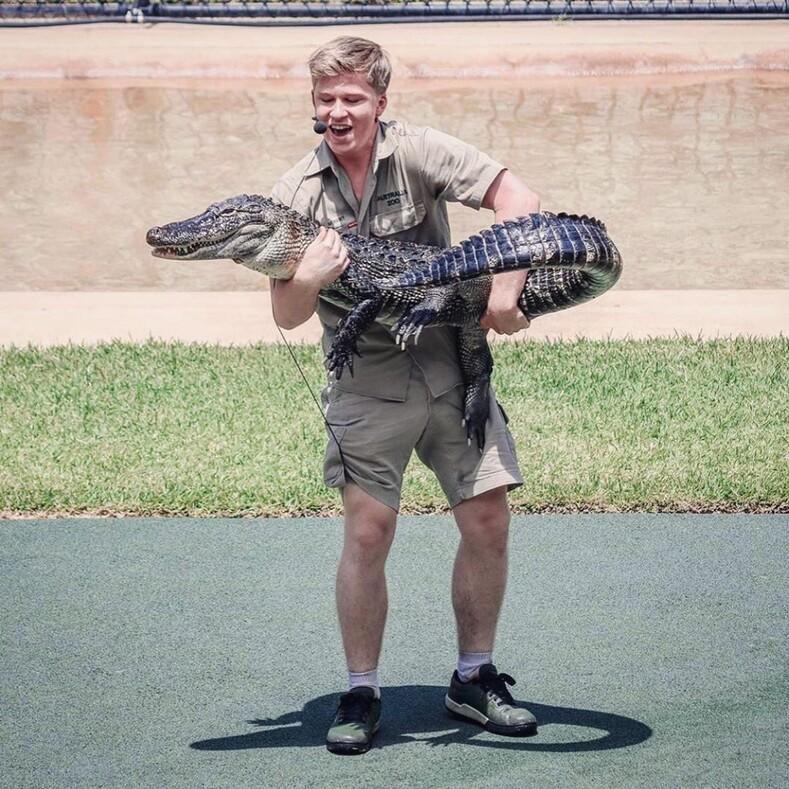 Наследие Стива Ирвина: чем занимается сын знаменитого охотника закрокодилами