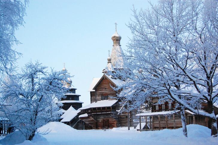 Музей деревянного зодчества «Витославлицы»