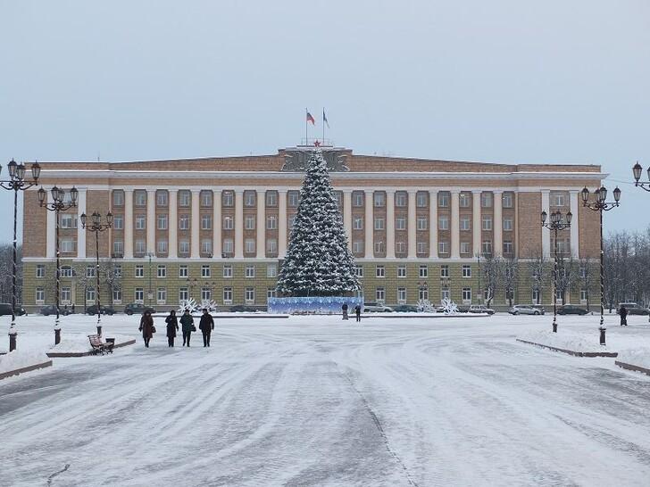 Главная ёлка города на Софийской площади