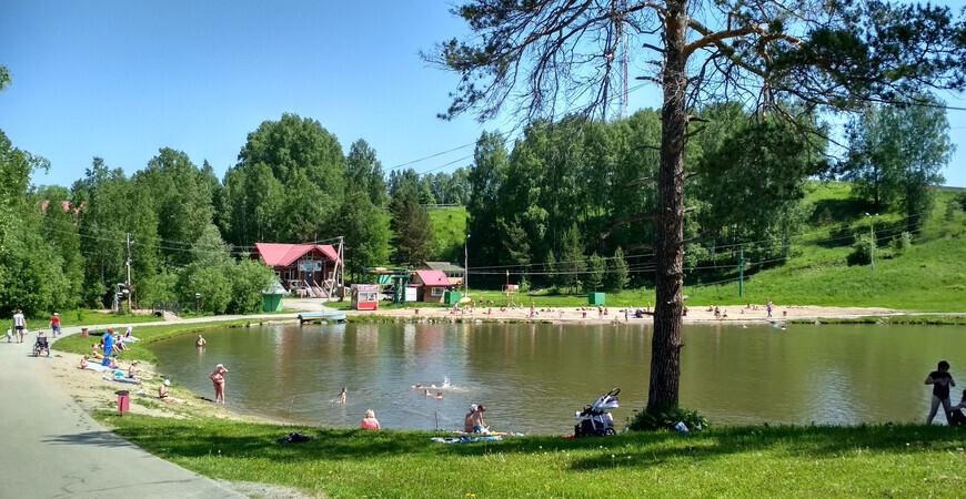 Пляж «Кольцово» в Новосибирске