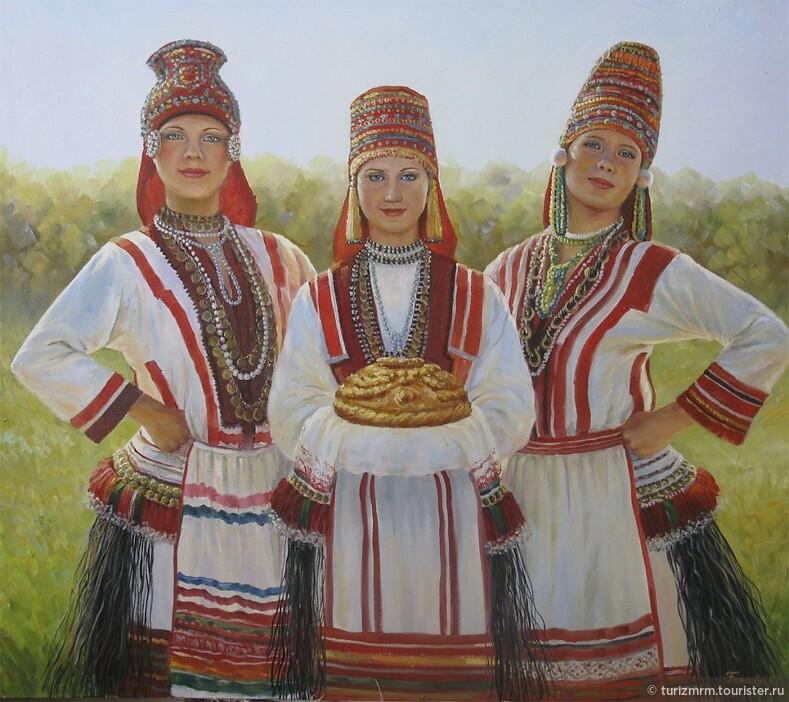 Одежда, как способ преподнести себя миру национальный мордовский костюм