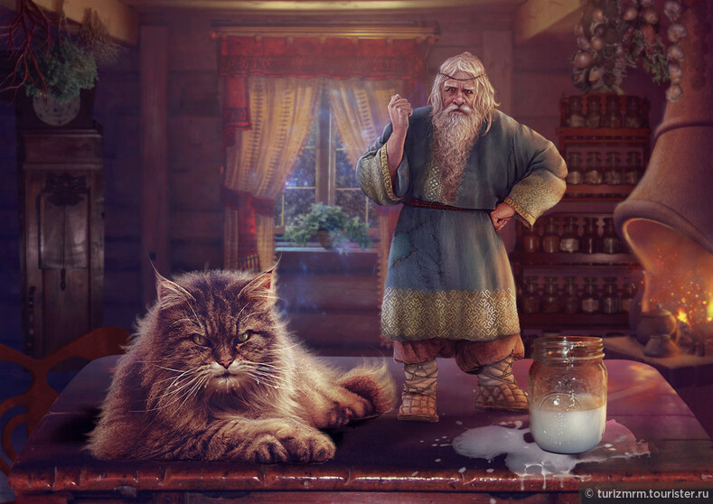 Мифы и легенды мордовского народа: Домовые духи