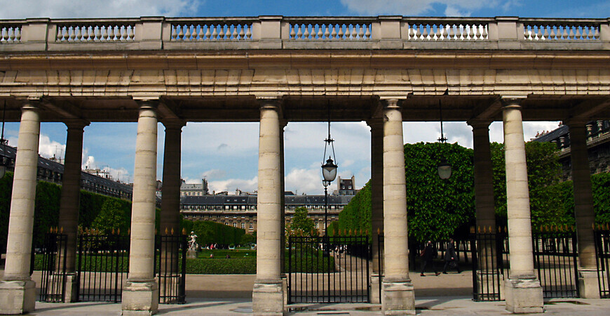 Дворец Пале-Рояль в Париже <br/> (Palais Royal)