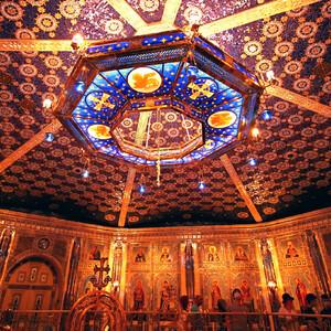 Нижний храм. Крестильня (баптистерий).
