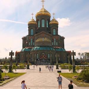 Главный храм Вооруженных сил РФ. Восточная часть (апсида)