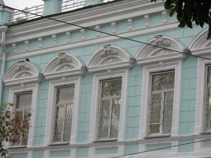 Фасад дома Резниченко