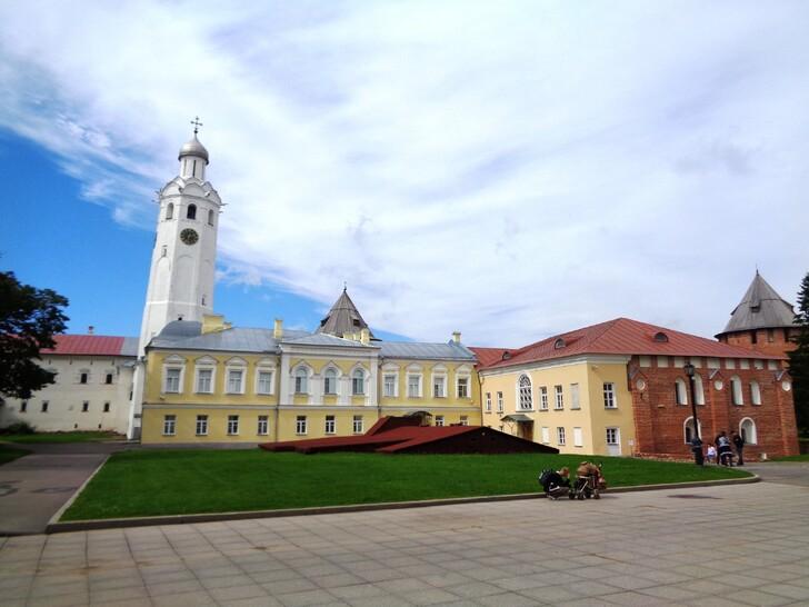 Музейные помещения на территории Новгородского кремля