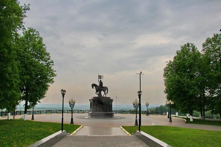 Смотровая площадка перед Успенским собором