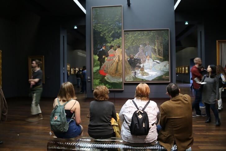 В музее д'Орсе