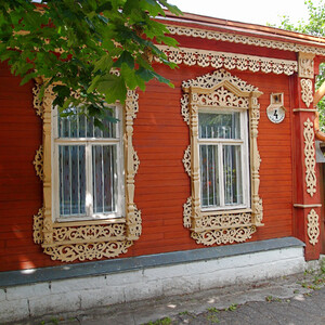 Коломенский Кремль оказался жилым! Очень приятно, что не просто музейный объект