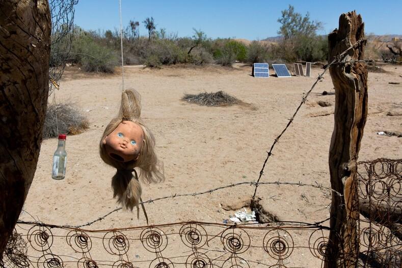 Рай для хиппи и вольных художников. Один день из жизни общины на юге Калифорнии (фото)