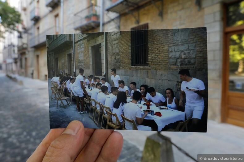 Фотограф прогулялся по пустым улицам Памплоны, вспоминая прошлогодние праздники (фото)