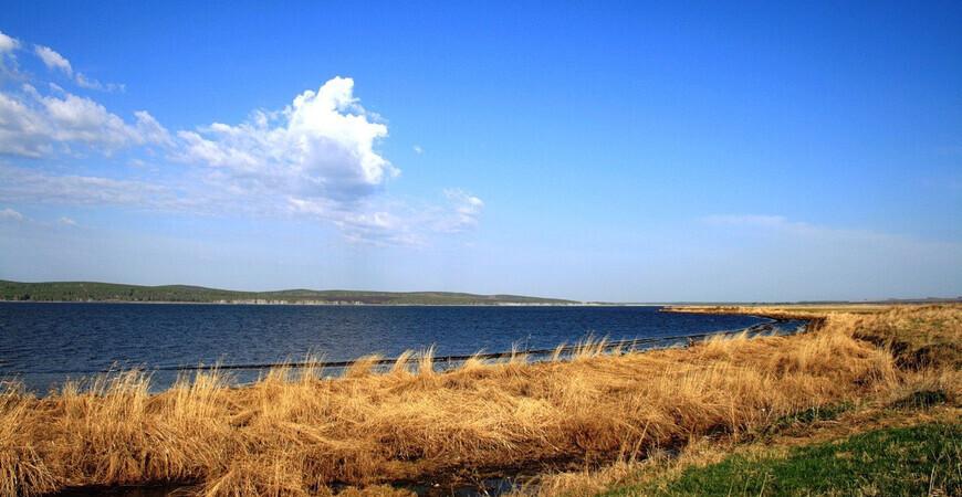 Белое озеро в Красноярском крае