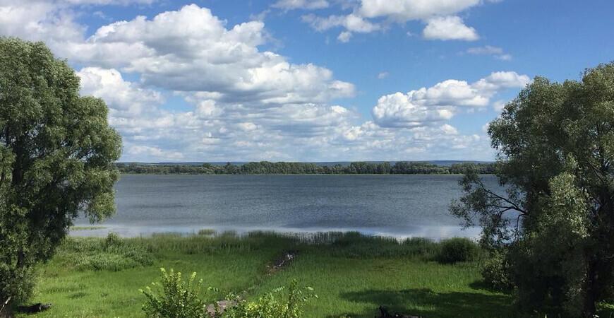Белое озеро в Башкортостане