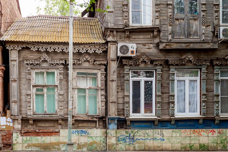 На улицах Астрахани