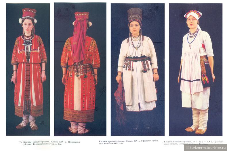 Одежда, как способ преподнести себя миру: женский мордовский костюм