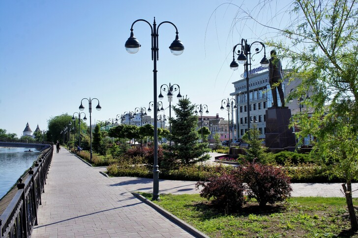 Сквер им.Гейдара Алиева