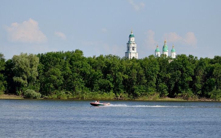 Вид на остров Городской
