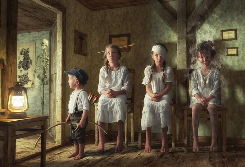 Когда твой папа фотоголик у этих детей точно не будет скучного фотоальбома