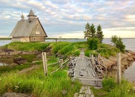На пороге Соловецких островов