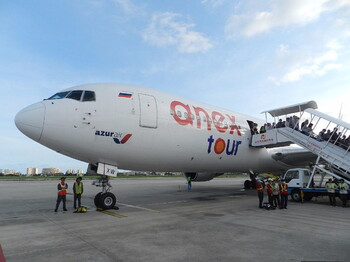 AZUR air открыла рейс из Екатеринбурга в Анапу