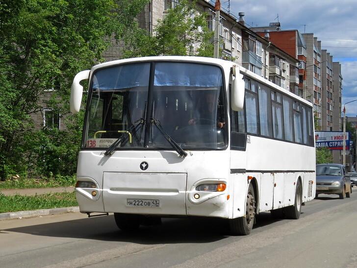 Автобус Киров — Юрья
