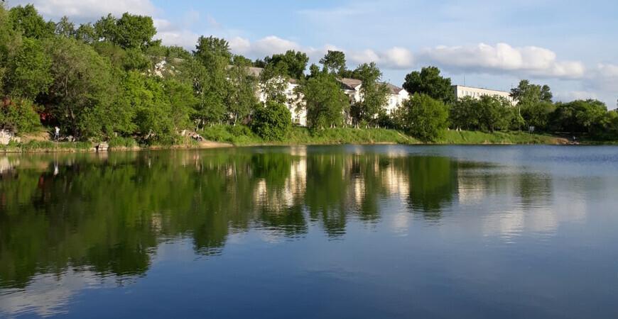 Озеро Рица в Хабаровске