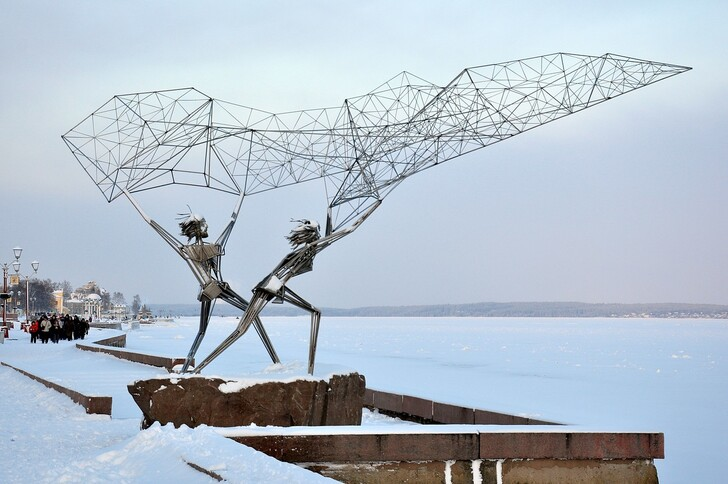 Онежская набережная Петрозаводска