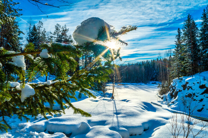 Что посмотреть в Карелии зимой