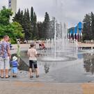 Поющий фонтан в Туапсе