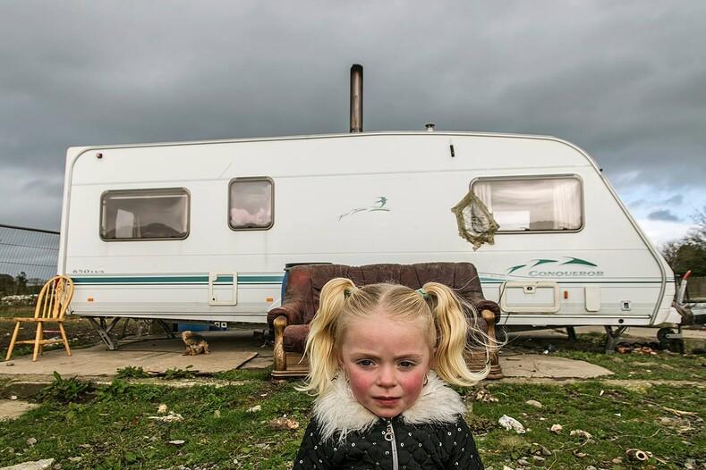 Фото ирландских цыган: мужчина 10 лет снимал жизнь табора, скрытую от посторонних глаз